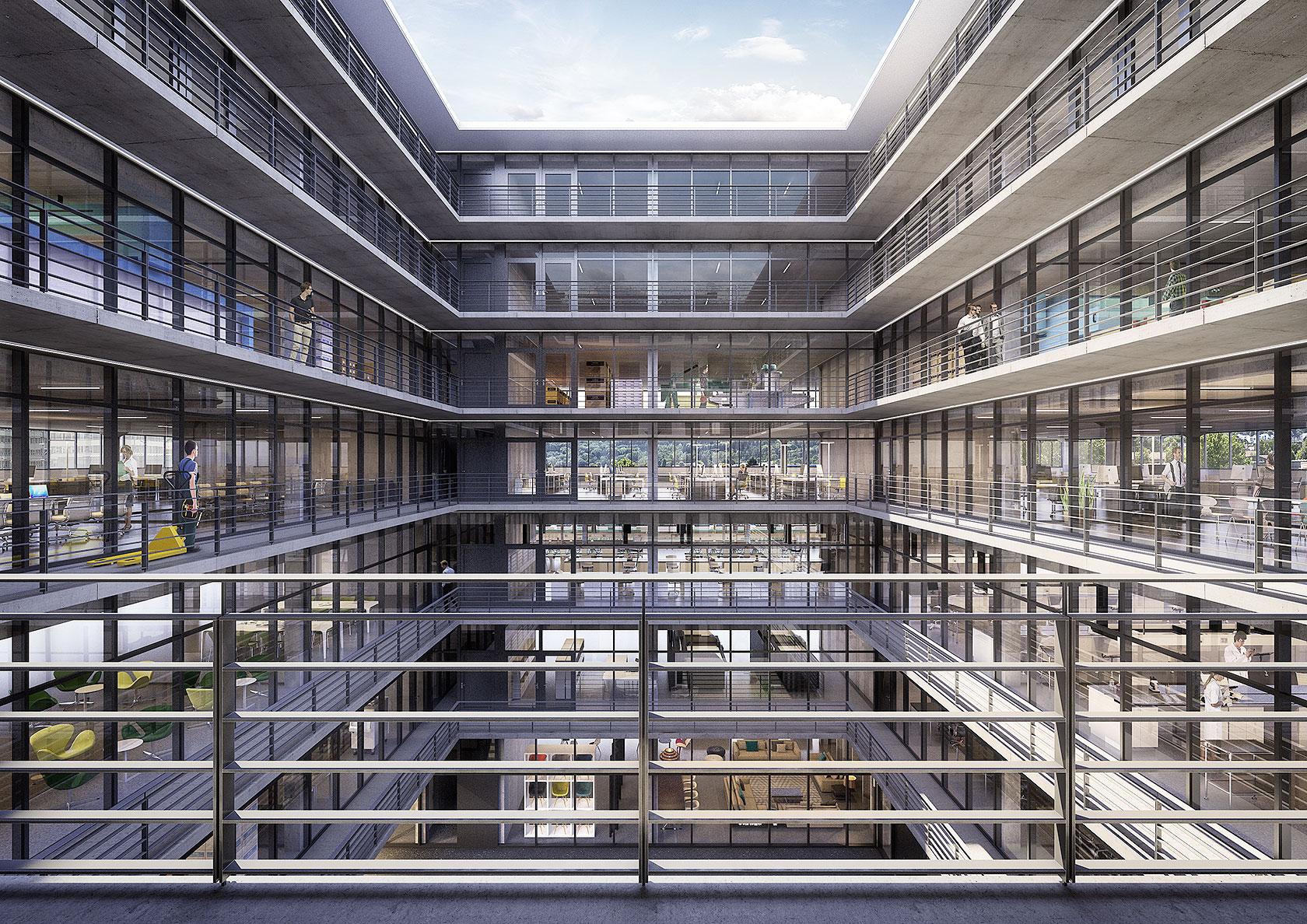 Arbeit public swiss interactive ag architektur for Visuelle architektur